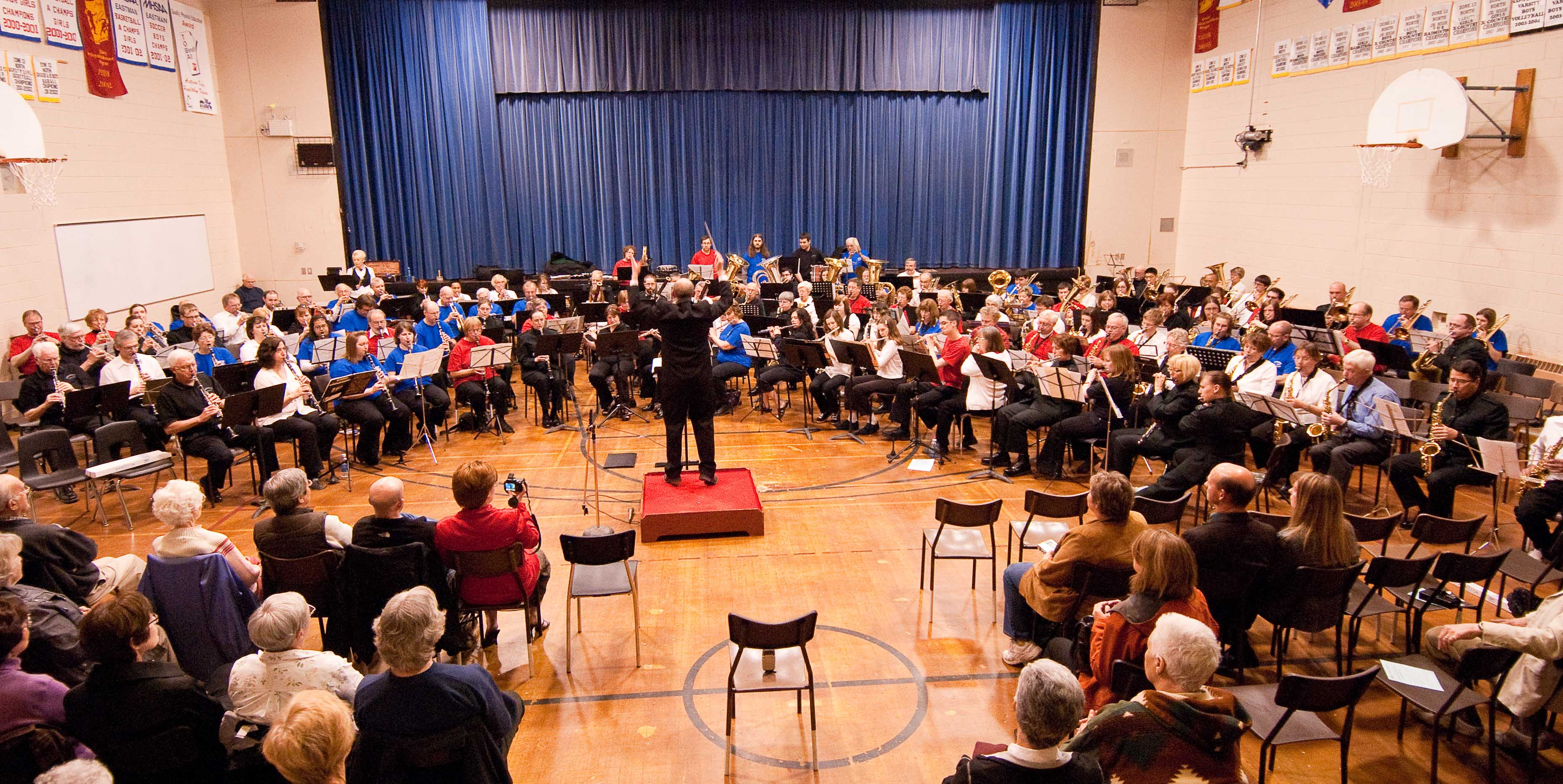 Community Massed Band by Stu Iverson